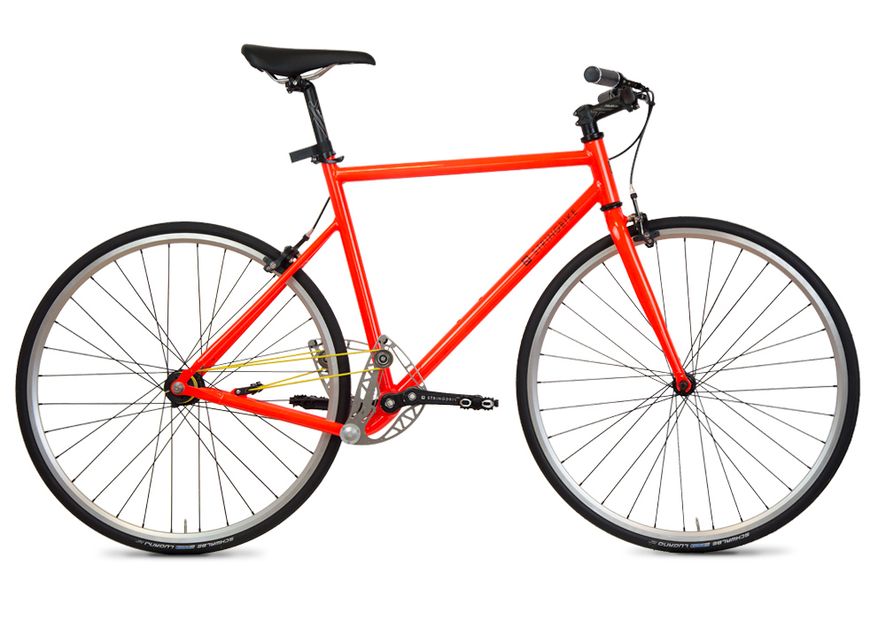 Stringbike | S line Stringie | Unisex Orange
