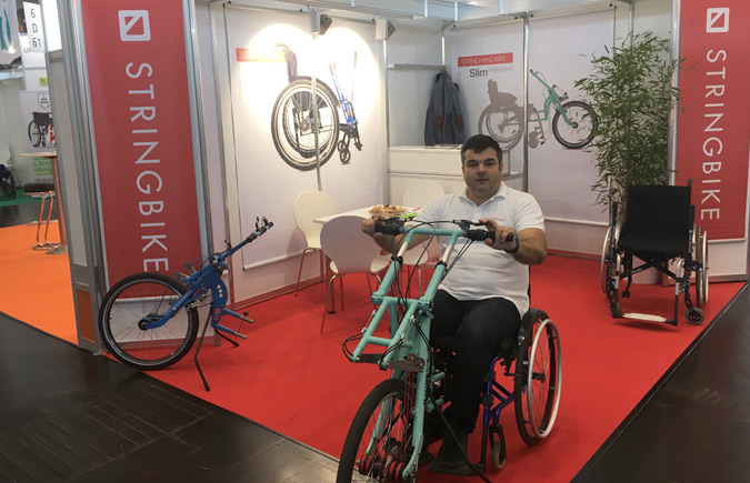 At Rehacare 2019 in Düsseldorf